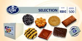 Koekjes Selectionmix 500 stuks met chocolade